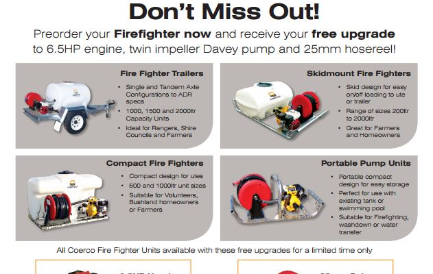 Are You Ready For FIRE SEASON ? 13 Bushfire Tips's with Fire Fighting Equipment !